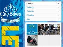 City Bikes Custom Twitter Profile
