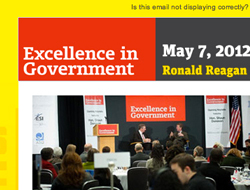 Excellence in Government Email Template