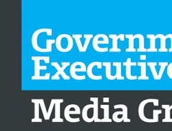 Government Executive Media Group Stage Signage