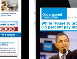Governmentexecutive.com Relaunch Print Ad