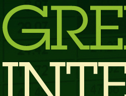 The Atlantic Green Intelligence Forum Print Ad