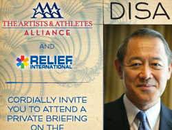 A&AA Japanese Disaster Relief Invitation