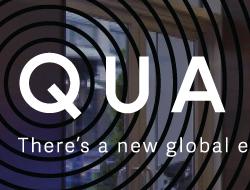 QUARTZ Magazine Window Cling Signage